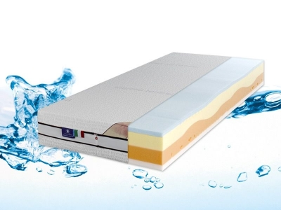 Memo Artic, the ideal mattress for a cool dry summer