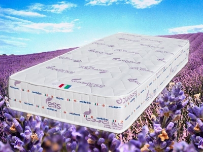 Polilattex Lavender mattress for a regenerating sleep to the scent of lavender