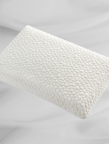 Bossage fabric pillowcase
