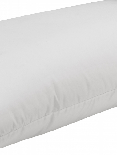 Flame- retardant fibre pillow